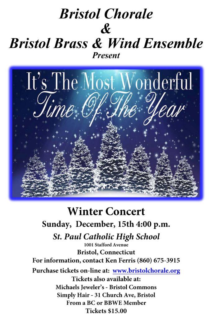 2019 Christmas Concert Poster 12x18
